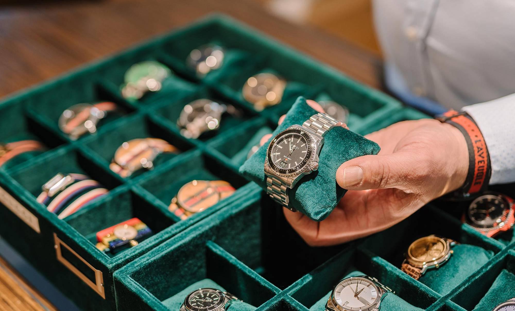Gioielleria Villa Lissone orologi di lusso Gucci